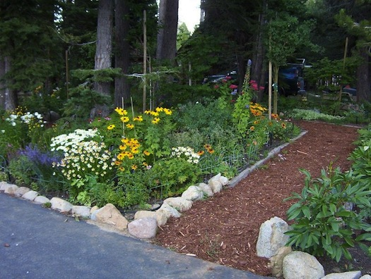 Photo of Private Garden Tahoe BMPs