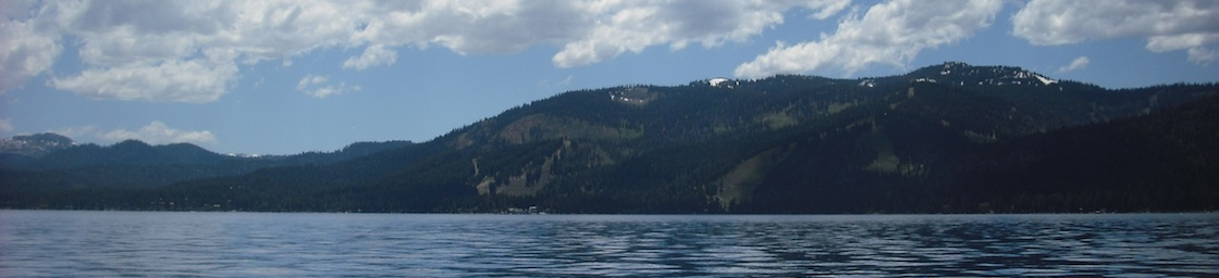 Photo of Homewood from Lake Tahoe