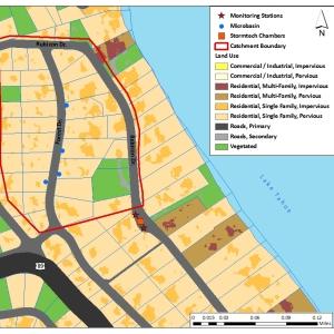 Rubicon Catchment Map