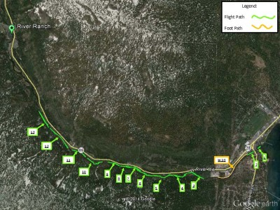 Truckee River AIS removal map