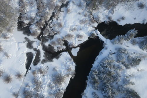 Johnson Meadow (Aerial) - Winter
