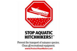 Stop Aquatic Hitchikers logo