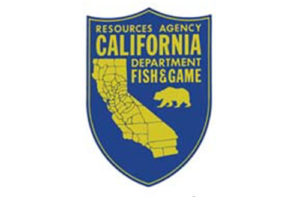 Resources Agency California Department Fish and Game logo